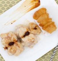 Lotte sauce caramélisée