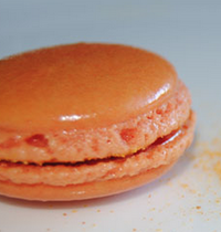 Macarons orange chocolat