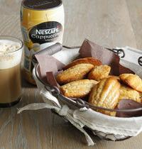 Madeleines au Cappuccino Vanille