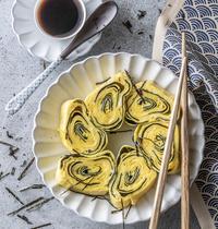 Makis d'omelette aux algues et au fromage par Scotchman