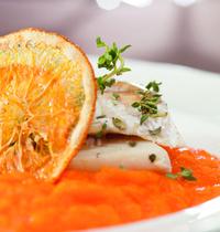 Maquereaux aux agrumes et fenouil.