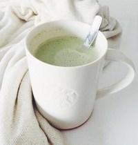 Matcha Latte sans lactose