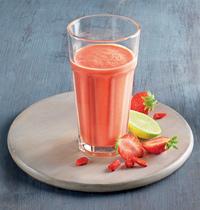 Milkshake aux fruits frais