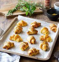 Mini-croissants pour l'apéritif