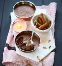 Mousse au chocolat intense
