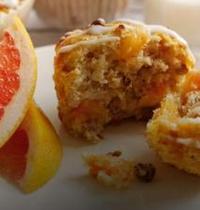 Muffins au pamplemousse et noix
