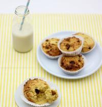 Muffins aux pépites de chocolat, pour diabétiques