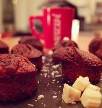 Muffins Cappuccino chocolat blanc