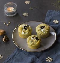 Muffins magret, figues & chèvre frais