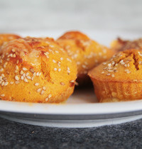 Muffins patate douce et comté