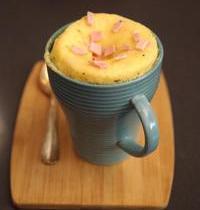 Ham and cheese mug loaf