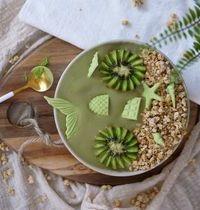 Nice cream au thé matcha : la glace rapide super healthy !