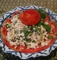 Northern spicy chicken salad | lab kai