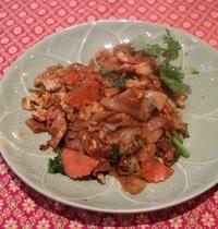 Nouille de riz sautée au poulet | Phad see ew gai