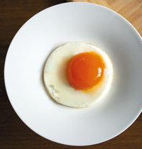 Raw/cooked egg
