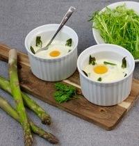 Asparagus and Parmesan Egg Cocotte