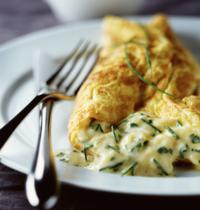Omelette nature  sans lactose