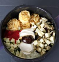 One pot pasta de légumes méditérannéens