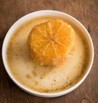 Oranges pochées au Chai l'Intense