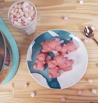 Oursons à la guimauve roses Citron & Framboise