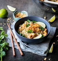Pad thaï tofu - crevettes