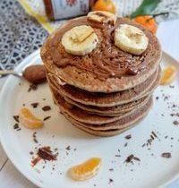 Pancakes à la Banane sans Gluten & sans Oeufs