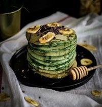 Pancakes à la spiraling verte : le petit déjeuner sain et gourmand