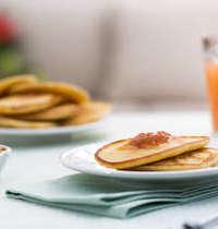 Pancakes aux zestes d'orange