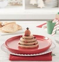 Pancakes de Noël au Nutella