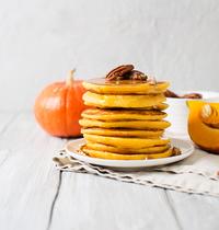 Pancakes de potimarron véganes