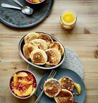 Pancakes et beurre aux épices