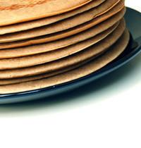 Pancakes sans gluten, sans lait, sans sucre raffiné