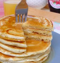 Pancakes sans lait, sans oeufs, sans beurre (vegan)
