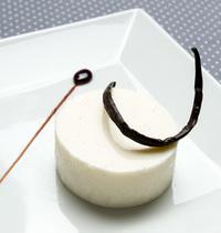 Panna cotta vanille caramel