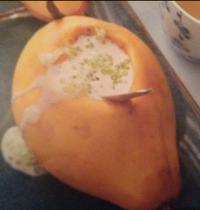Papayes fourrées aux perles du Japon