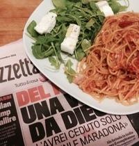 Pasta Pancetta & Pomodorini