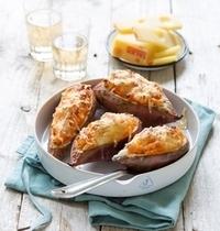 Patates douces grillées à l'Emmentaler AOP suisse