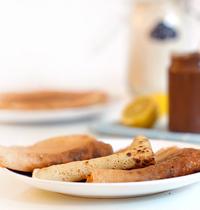 Pâte à crêpes sans gluten et sans lait