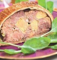 Pantin foie gras pâté  (Pantin is the name of a French city)