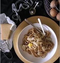 Pâtes aux Oeufs Frits & à la Truffe