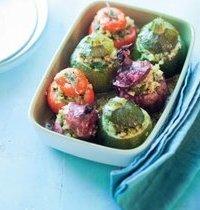 Petits farcis au quinoa et fruits secs