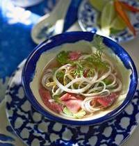 Vietnamese Pho bo soup