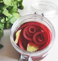 Pickle d'oignons rouges