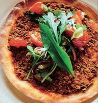 Sonia Ezgulian's Armenian pizza