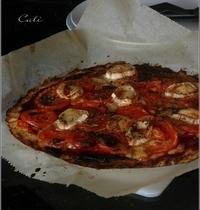 Pizza à la Croûte de Chou-Fleur