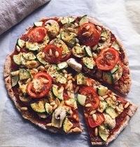 Pizza aux légumes