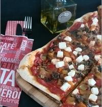 Pizza aux Petits Légumes Confits & à la Feta