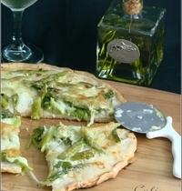 Pizza Blanche & Verte