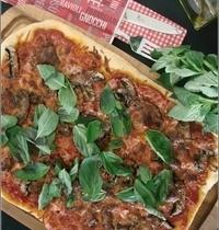 Pizza Champignons & Basilic