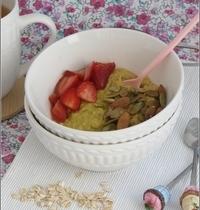 Porridge au Lait d'Amande, Curcuma & Gingembre